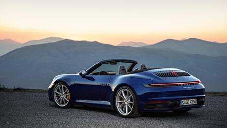 All set for open-top deteriorate – a new 911 Cabriolet