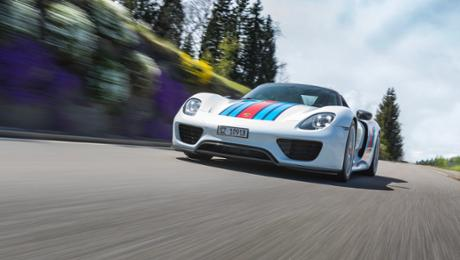 The aristocrat of a roads and his 918 Spyder