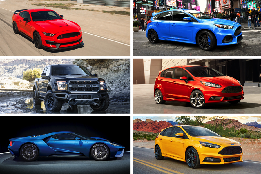 Ford's Performance Zone showcases a coolest cars