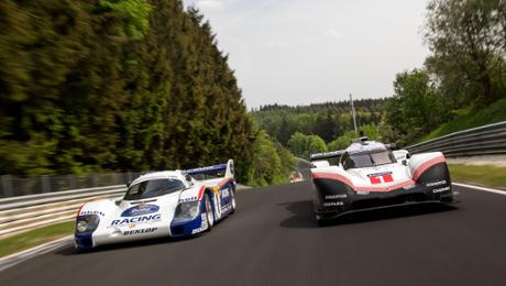 919 Tribute Tour during a Nordschleife