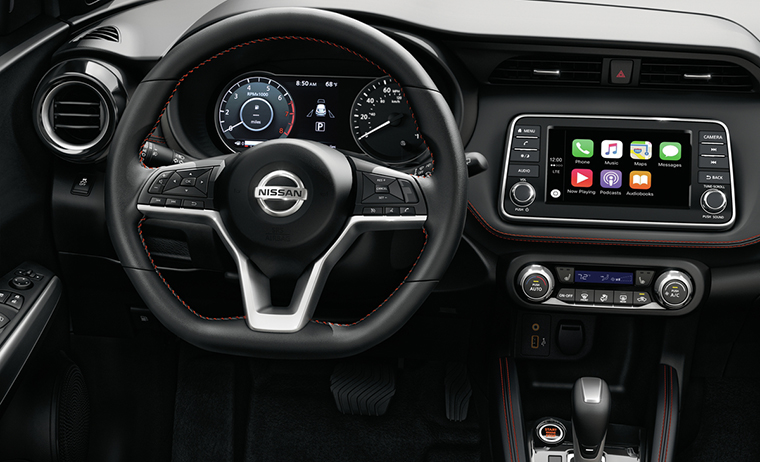 Nissan: Nissan Kicks plays strong inside game – named one of  WardsAuto's 10 Best Interiors for 2019