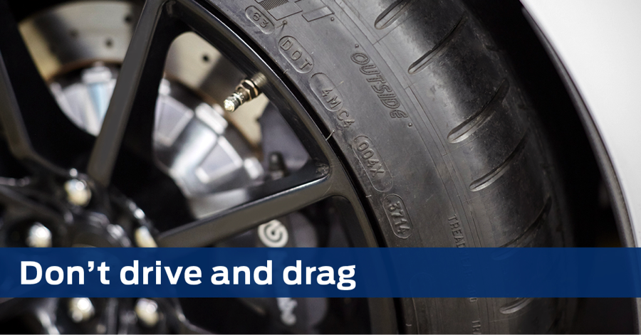 Don't expostulate and drag. Prevent your tires from being a subsequent deflategate.