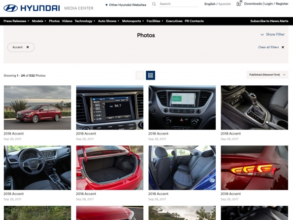 Hyundai Launches Redesigned Hyundainews.com Media Website