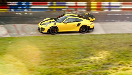 GT2 RS is a fastest 911 of all time during 6 minutes, 47.3 seconds