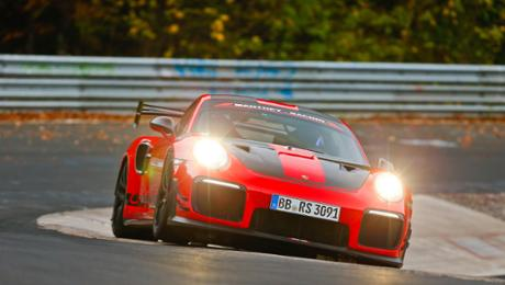 911 GT2 RS MR: A new record on a 'Ring'