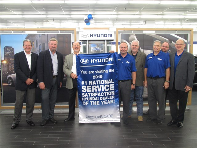TEXOMA HYUNDAI LEADS IN SERVICE CUSTOMER SATISFACTION FOR THE THIRD YEAR IN A ROW