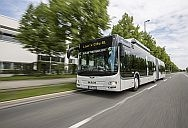 Clean, absolute and economical: these are a characteristics of a MAN Lion's City GL CNG that wowed a row of trade reporters from opposite Europe judging this year's 'Bus Euro Test'.