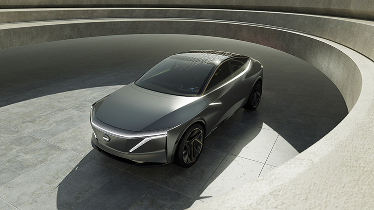 Nissan: Nissan IMs EV Sports Sedan concept makes world debut  at 2019 North American International Auto Show