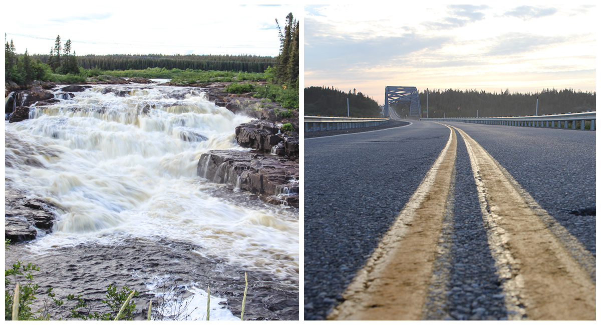 Road outing to Côte-Nord with a Escape