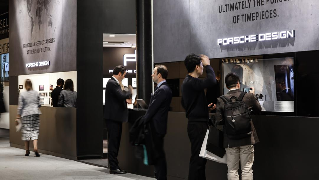 Trade satisfactory Baselworld, 2019, Porsche AG