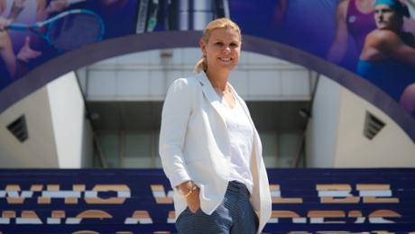 """Anke Huber: """"Angie is a fighter"""""""