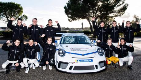 Who will be a 2019 Porsche Junior?