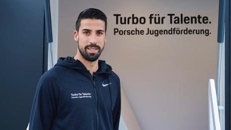 "Khedira new envoy for ""Turbo for Talents"""
