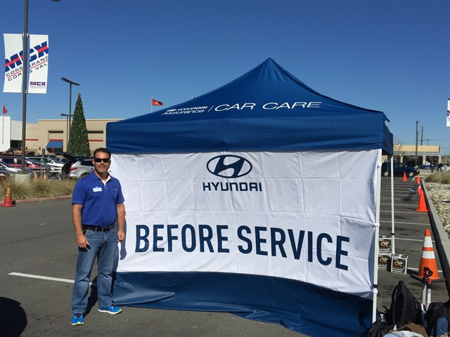 HYUNDAI'S BEFORE SERVICE EXPERIENCE TOUR TO STOP AT ITS  UNITED STATES HEADQUARTERS