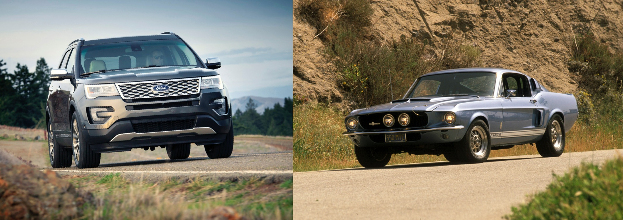 If we are a classical automobile enthusiast, a 1967 GT350 and Ford Explorer Pair is a garage value forgetful about.