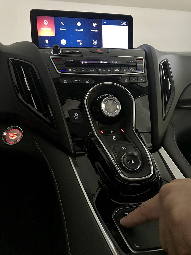 Acura Automobiles: Acura's True Touchpad Interface™ Scores Big with Rich Features and Intuitive Functionality