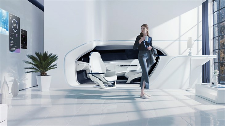 HYUNDAI MOTOR TO SHOWCASE VISION FOR FUTURE MOBILITY - MOBILITY VISION SMART HOUSE