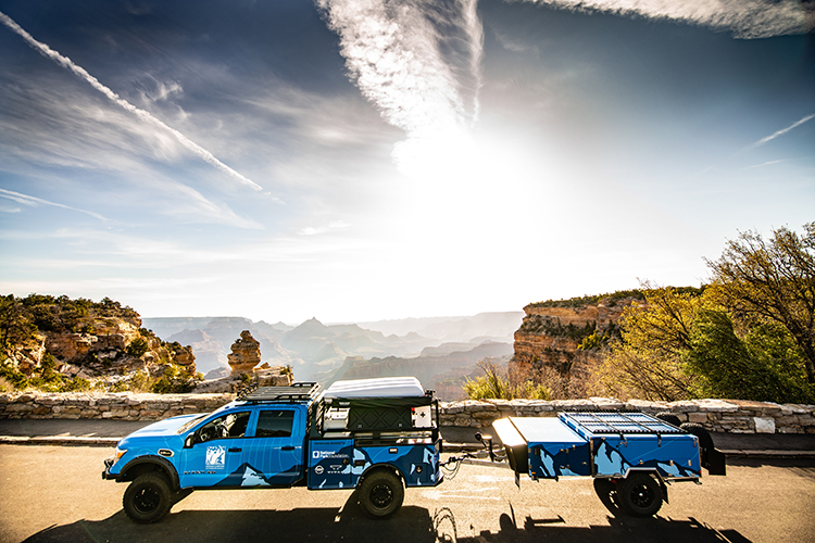 """Nissan: Calling All TITANs: Nissan donates """"Ultimate Parks TITAN"""" to Grand Canyon Service Conservancy through partnership with National Park Foundation"""