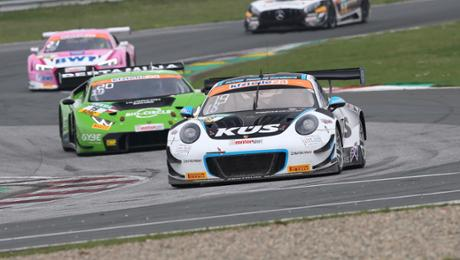 Fourth for a Porsche 911 GT3 R during ADAC GT Masters