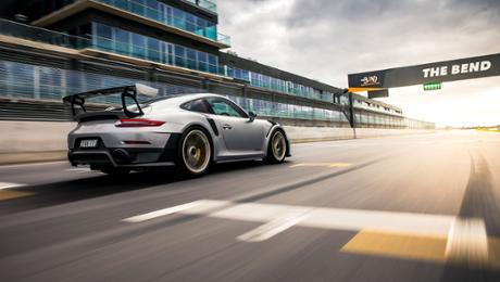 Setting a bar high – 911 GT2 RS around The Bend