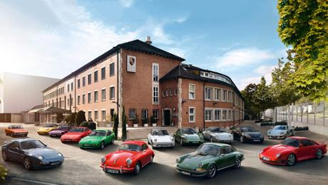 Anti-theft insurance for Porsche classical vehicles