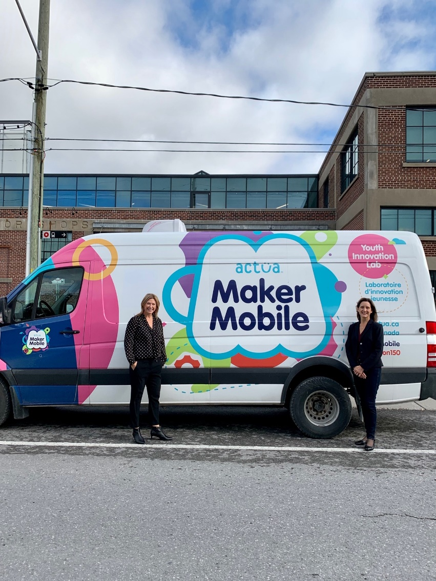 Toyota Canada Foundation Announces New Funding for Actua and a Fall Maker Mobile Tour