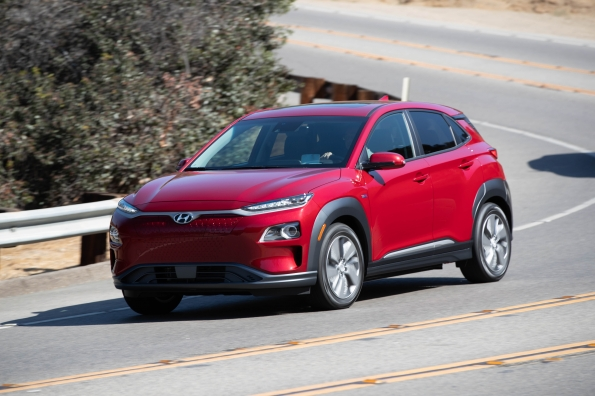 Hyundai Kona Electric Named Best EV of 2019 in the Edmunds Editors' Choice Awards