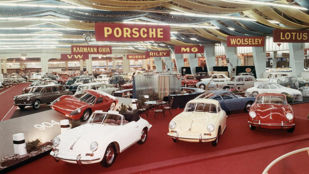 356, Geneva International Motor Show, 1964, Porsche AG