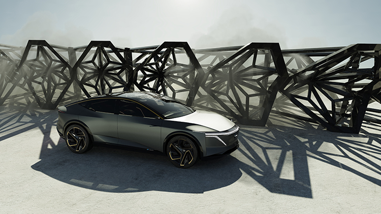 Nissan: Nissan transforms traditional sedan design with IMs concept
