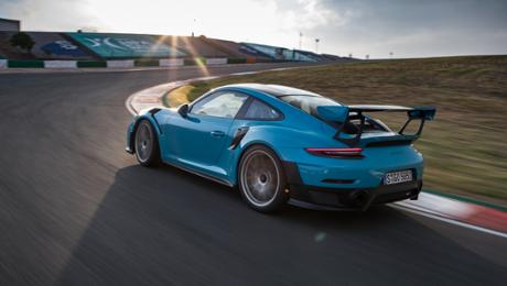 On a opening goal with a 911 GT2 RS