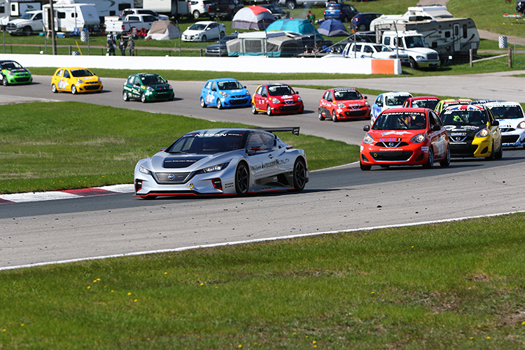 Nissan: Olivier Bédard winner at the 2019 Nissan Micra Cup season kickoff weekend