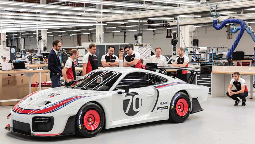 Development team, Porsche 935, 2019, Porsche AG