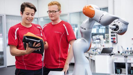 Porsche has been educating trainees for 75 years