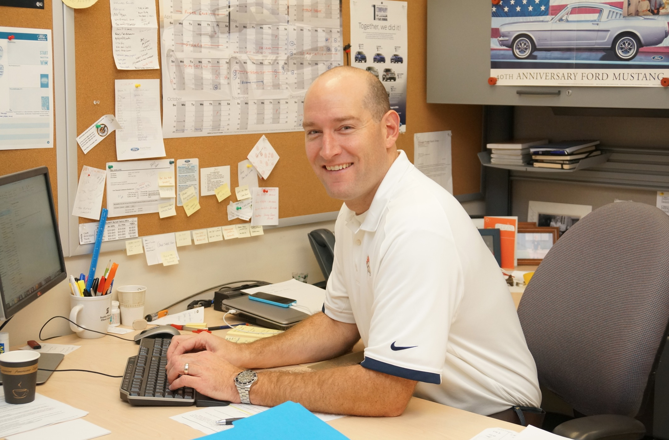 Photo of Jamie Rae, tradesman selling plan manager during Ford in Oakville, ON