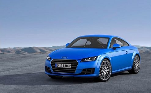 """Top Gear: Audi TT* is """"Coupé of a Year 2014"""""""