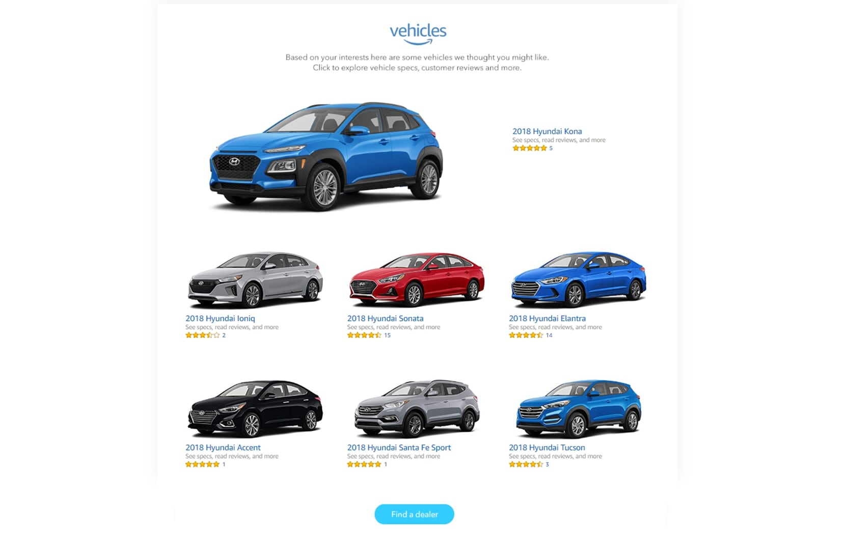 "Hyundai Provides a Digital ""Showroom"" on Amazon.com"