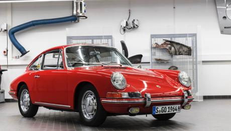 The lapse of a Porsche 911 Number 57