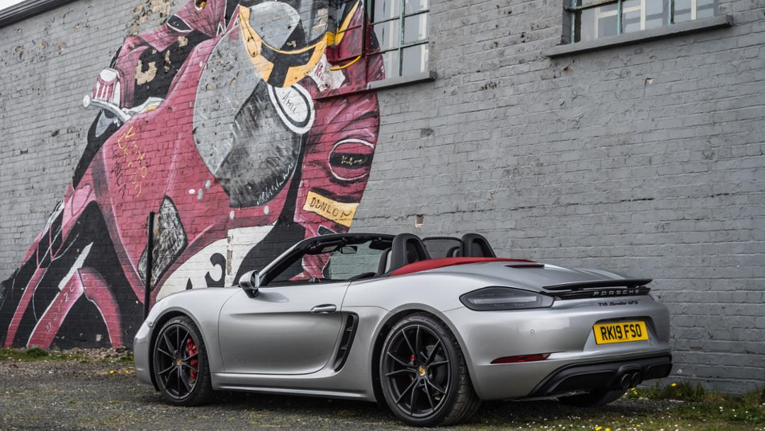 718 Boxster GTS, Isle of Man, 2019, Porsche AG