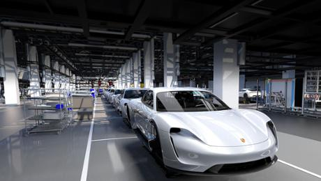 Porsche definitively enters electric epoch with a Taycan
