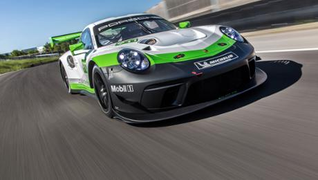 Strong, swift, spectacular: a new 911 GT3 R