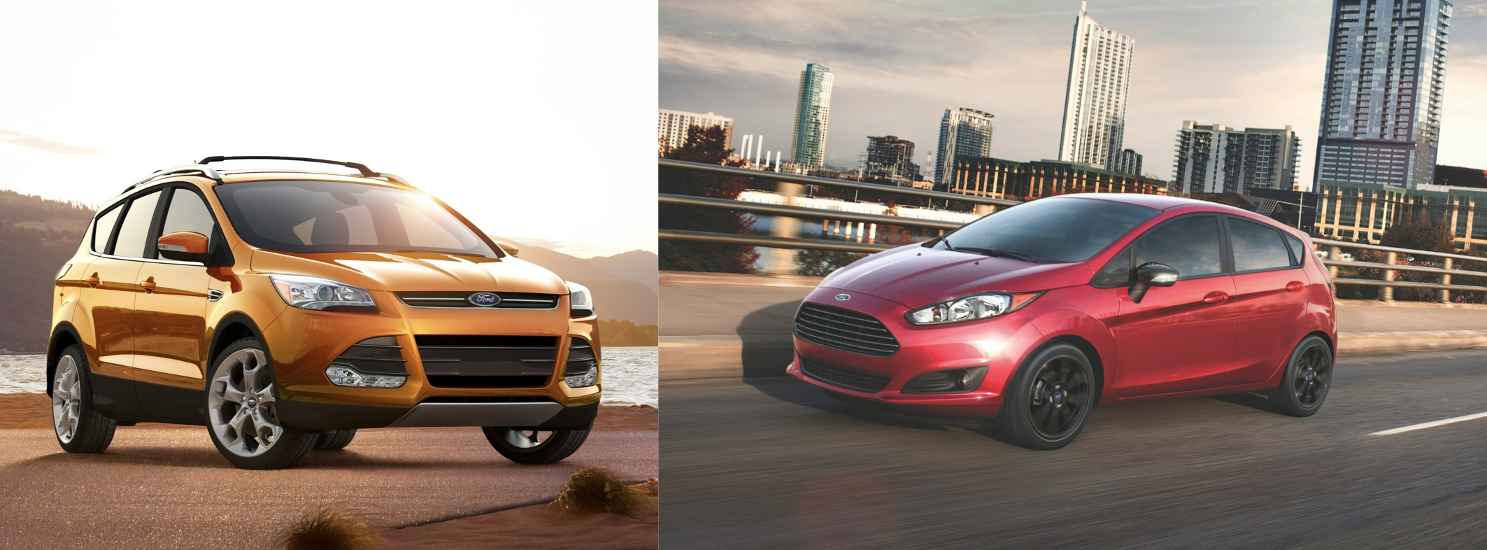 The 2015 Ford Escape and 2015 Ford Fiesta ST are a ideal span for city dwellers.