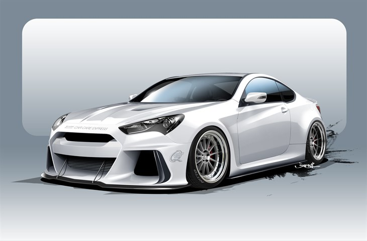 ARK PERFORMANCE BOOSTS POWER AND LUXURY FOR GENESIS COUPE SEMA BUILD