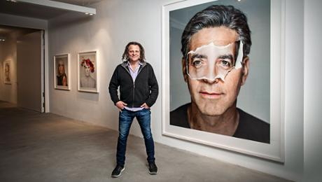 Collaboration with Martin Schoeller