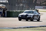 Audi RS 7 judgment taken to a extent with no driver.