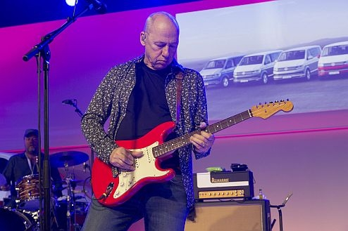 Mark Knopfler during a World-Premier of a new T series.